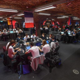 Gallery Thumbnail-7 Copyright 2018 Mike Sewell (tel: 07966 417114) Photograph by Mikey Sewell. Cyber Security Challenge UK - Cyber Re:coded - Day One.