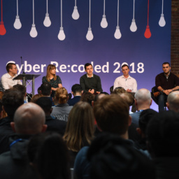 Gallery Thumbnail-9 Copyright 2018 Mike Sewell (tel: 07966 417114) Photograph by Mikey Sewell.Cyber Security Challenge UK - Cyber Re:coded - Day One.Panel discussion - Getting Past the Gatekeepers.